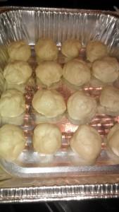rolls before rising