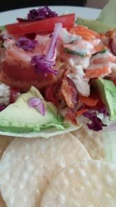 shrimp and crab salad 3